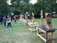 Alte Kastanie kehrt als Kunst in den Schlossgarten zurück