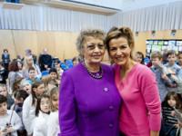 Anne-Sophie Mutter im Meister-Klassenzimmer