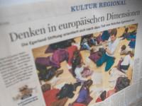 """Die NOZ über die Stiftung: """"Denken in europäischen Dimensionen"""""""