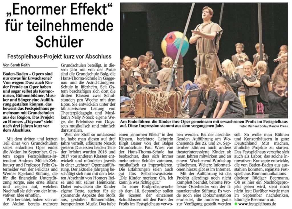 20180629_Badisches Tagblatt_Lokales_Bericht_Vorschau_Odyssee