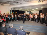 107 Achtklässler gehen in Bad Essen auf Zeitreise