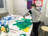 Schüler präsentieren Ergebnisse von Kreativ-AG